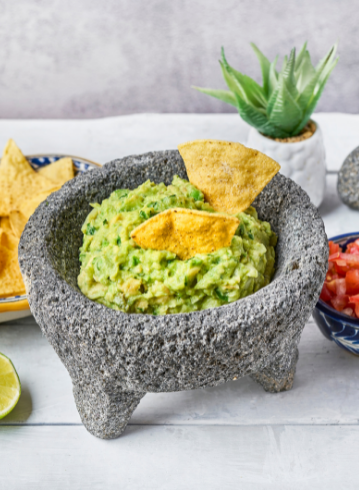 La Chelinda - Nachos con guacamole